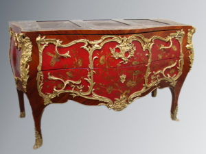 realisation - commode rouge